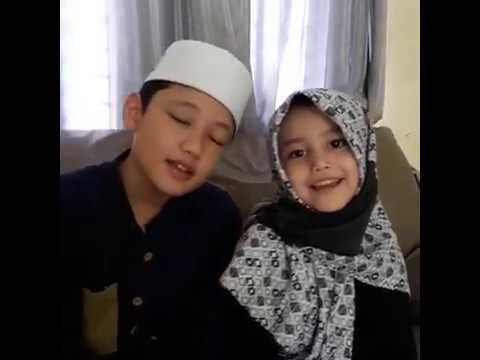 Alwi Assegaf Sholawat Sidnan Nabi with Aminah Assegaf #SiblingGoals