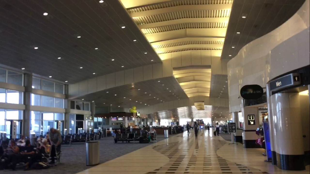 Tampa International Airport Airside A Updated Video