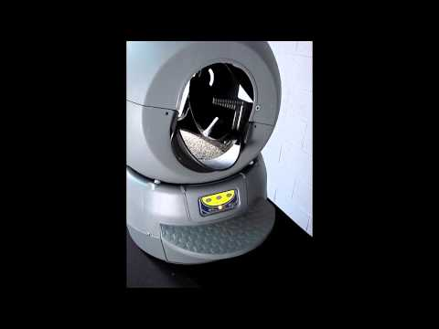 Litter-Robot II: Filling and Emptying the Globe