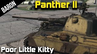 The Poor Little Kitty - Panther 2 (War Thunder Tanks Gameplay - 1.43)