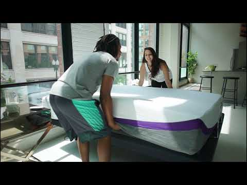 Unboxing The REM-Fit Sleep Series Memory Foam Mattresses