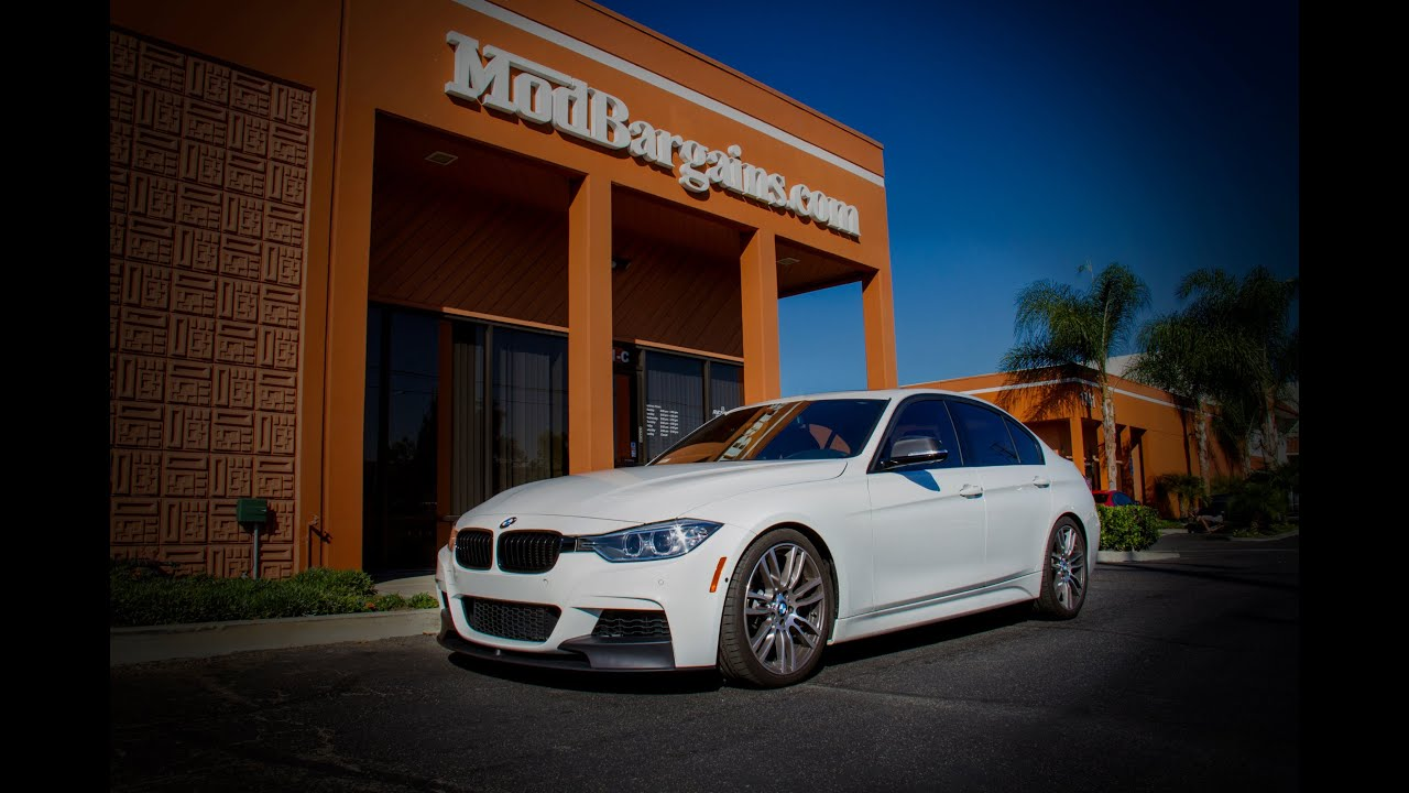 2013 F30 Bmw 335i Gets Lowered With H Amp R Sport Springs Youtube