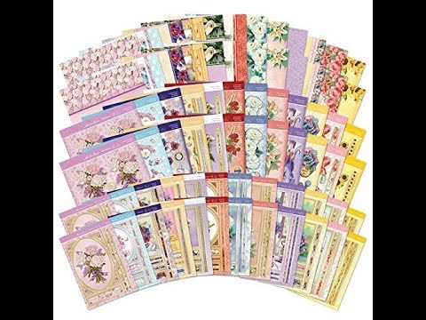 Hunkydory Crafts Fabulous Florals Designer Deco-Large Collection Card Kit