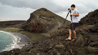 Seascape Photography at a Green Sand Beach