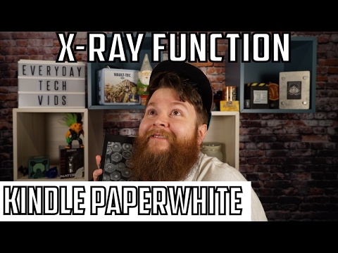 Kindle Paperwhite X Ray Feature! How Does it Work?