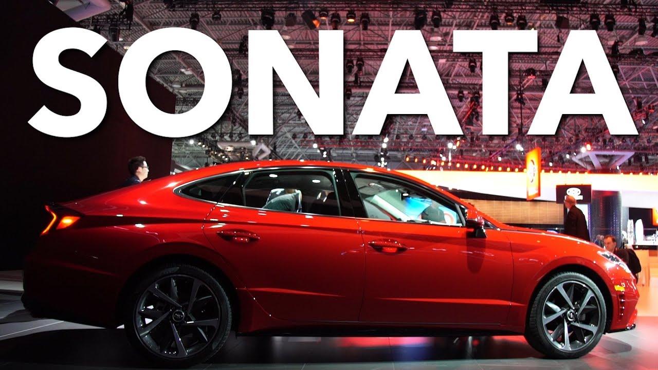 2019 New York Auto Show 2020 Hyundai Sonata Consumer Reports Youtube