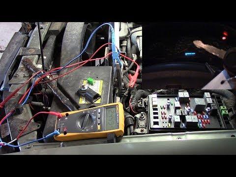 2004 Trailblazer Battery Drain/cluster Kinda Stays On With Key Off (part 1)
