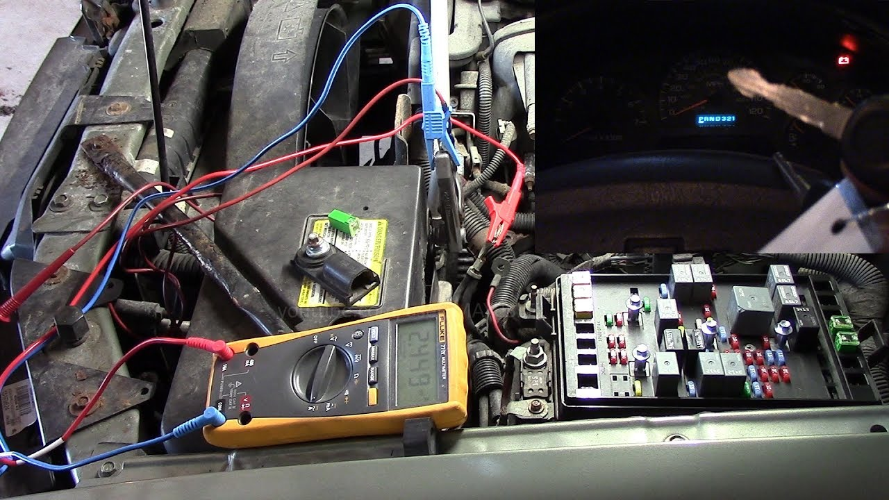 2004 Trailblazer Battery Drain Cer Kinda Stays On With Key Off Part 1