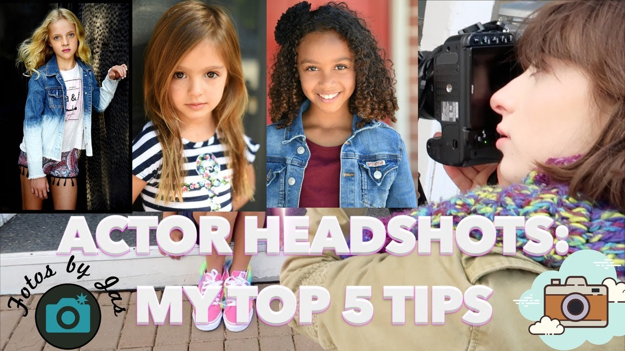 Top 5 tips for headshots!