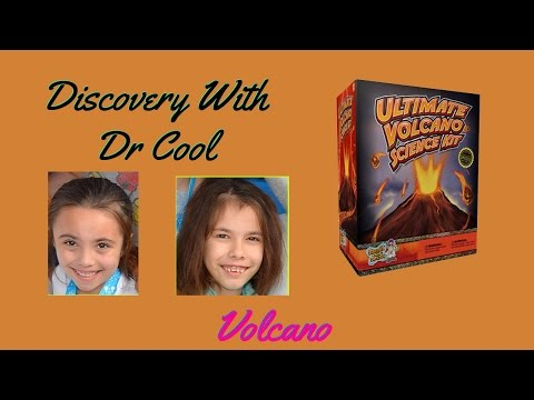 Dr Cools Ultimate VOLCANO Science Kit - SCIENCE PROJECT Build - By Discover with Dr Cool