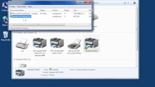 Windows 7 Change the Printing Priority of Documents Waiting to Print