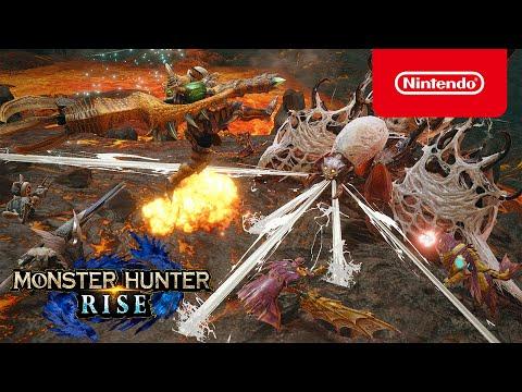 MONSTER HUNTER RISE – El Frenesí (Nintendo Switch)