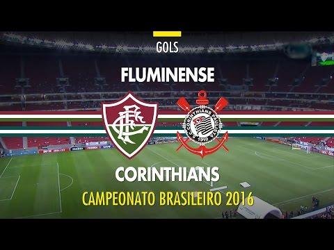Gol - Fluminense 1 x 0 Corinthians - Brasileirão - 16/06/2016