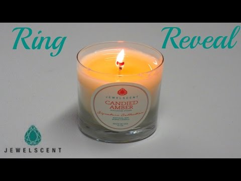 JewelScent Ring Reveal - Candied Amber Candle!. http://bit.ly/377XsGz