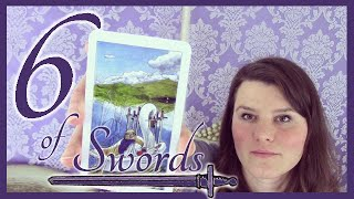 6 Six of Swords Tarot Card Meaning Upright & Reversed