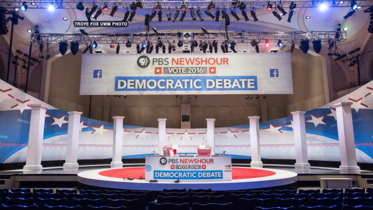 Democratic Presidential Candidates Face Off in Debate