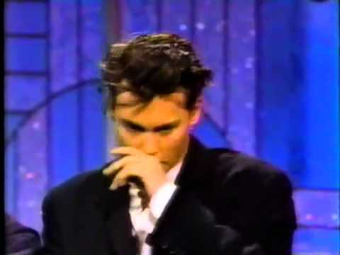Johnny Depp & Tim Burton Interview   Arsenio Hall 1990 FULL INTERVIEW