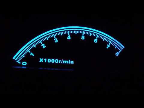 LED стикер за кола със сини диоди CT92 8