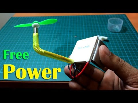 How to Make Free Power Generator by Thermoelectric - Creative Channel