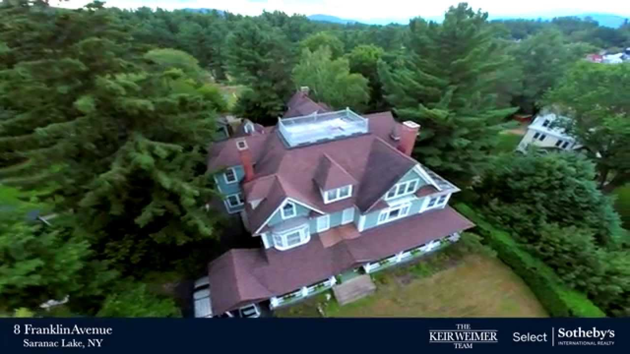 Adirondack Real Estate 8 Franklin Avenue Saranac Lake Ny Youtube