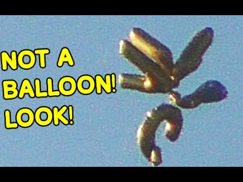 Original 60 FPS File Balloon-Mimic UFO June 26, 2016 Los Angeles