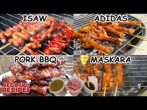 Filipino BBQ Recipe Compilation | Pork BBQ, Isaw, Chicken Feet, Maskara and Barbeque Dipping Sauces