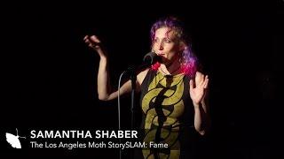 """Sam Shaber The Moth """"Fame"""" StorySlam"""
