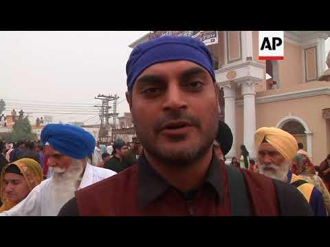 Sikh Pilgrims Gather Near Lahore To Celebrate Birthday Of Their Founder