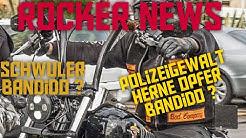 Rocker News | Homosexueller Bandido in Hagen vor Gericht | Herne Polizeigewalt gegen Bandido