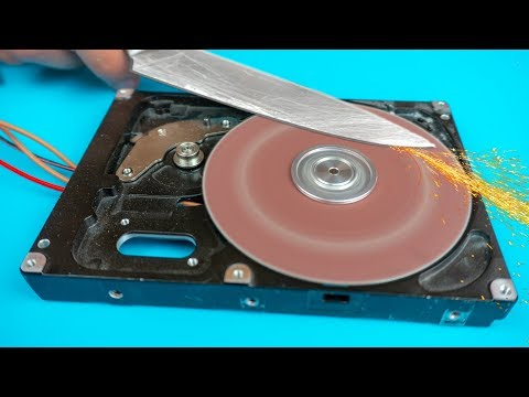AWESOME USEFUL THING TO DO FROM AN OLD HARD DRIVE