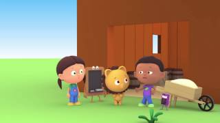 """Развивающий мультфильм: """"Считаем с Полой"""". Цифра 8. Любимые лошадки."""