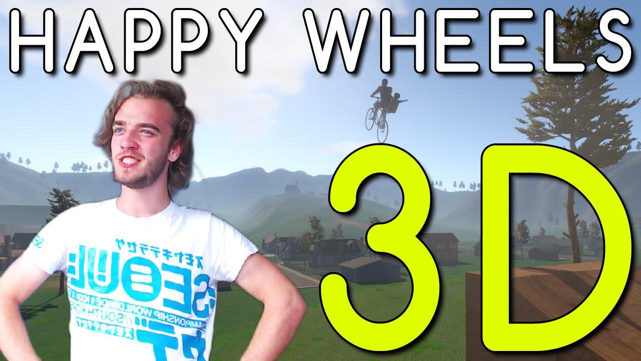 Happy Wheels 3d