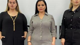 25 10 21 Прямой эфир Покаж женской одежды большого размера Турция Стамбул