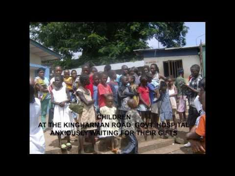 POOR ENVIRONMENTAL SANITATION IN THE SLUM AREA OF FREETOWN SIERRA LEONE