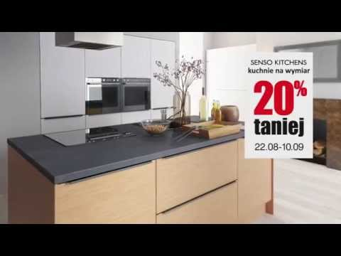 Meble Kuchenne Kuchnia Na Wymiar W Black Red White Youtube