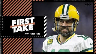 First Take reacts to Aaron Rodgers addressing his offseason saga with the Packers