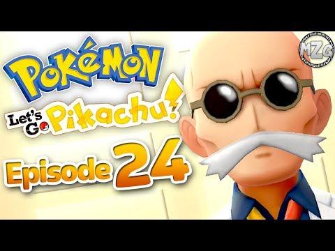 Pokemon Let's Go Pikachu & Eevee Gameplay Walkthrough - Episode 24 - Blaine Gym Leader!