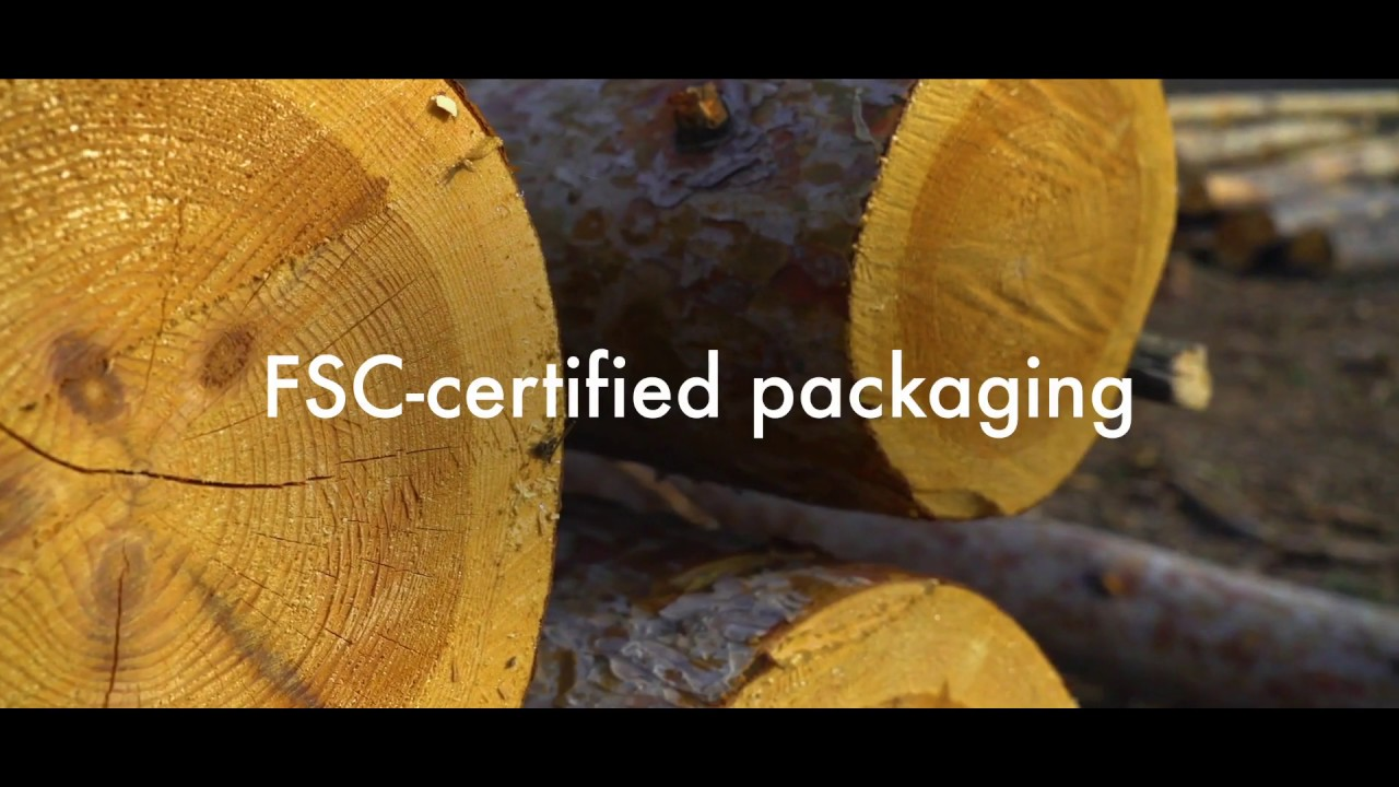 The fsc label verifies that the raw paperboard used to make the carton packs was manufactured using only wood fibers that can be proven to originate from responsibly managed forests certified. Fsc Packaging Youtube
