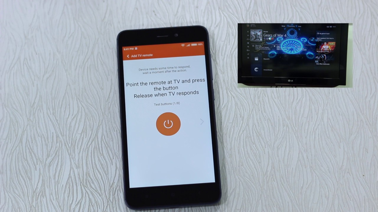 Redmi 4A: How to use Mi Remote to control TV, AC, and other devices ...