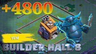 8 Seviye İnşaatçı Köyü Düzeni - Bh8 Base +4800 | Clash Of Clans