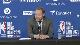 Coach Budenholzer NBA Paris Press Conference | 1.24.20