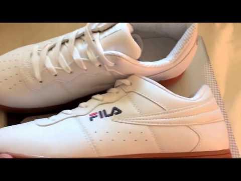 new-fila-classics-white-gum-og-retro-custom-shoes!!!!✔🏆