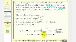 (new Version Available) Probability: Expected Value