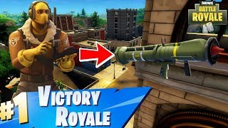 """Fortnite:Battle Royale """"Guided Missile Launcher"""" Weapon Update Countdown (Guided Missile Gameplay)"""