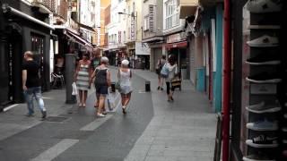 Town Centre and Shops, Lloret de Mar, Costa Brava, Spain