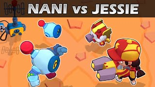 JESSIE vs NANI | 1vs1 | 27 Test | Brawl Stars