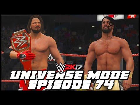 WWE 2K17   Universe Mode - 'ARMAGEDDON PPV!' (PART 3)   #74