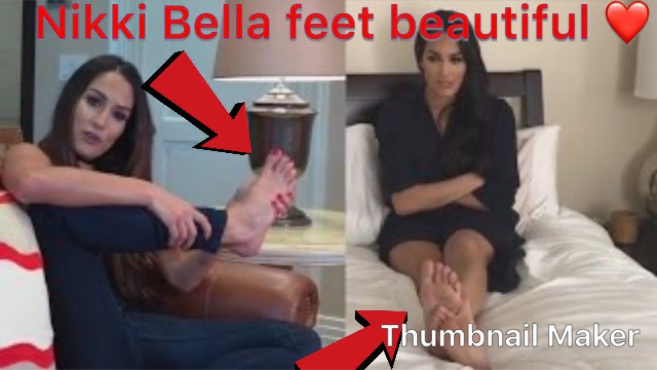 Nikki Bella Feet Soles Compilations Youtube