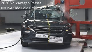 2020-2022 Volkswagen Passat NHTSA Side Pole Crash Test