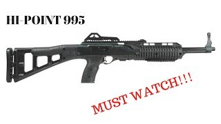 Hi-point 9mm/ 995TS carbine: how to DISASSEMBLE/ FIELD STRIP the RIGHT way